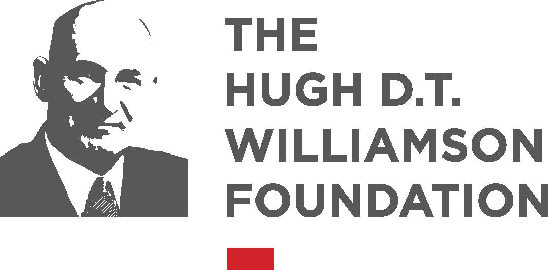 The Hugh D.T. Williamson foundation logo