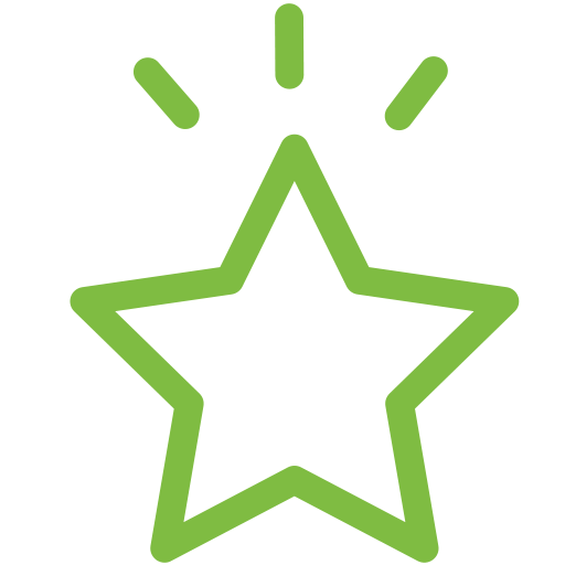 Good deeds icon green